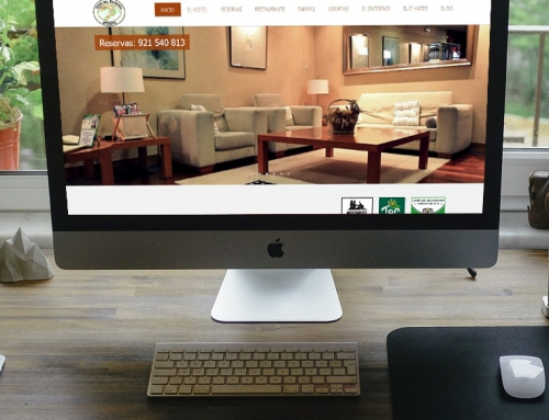DISEÑO WEB HOTEL RURAL WORDPRESS