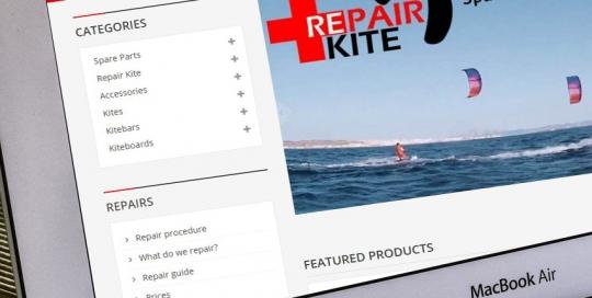 Tienda online material kitesurf