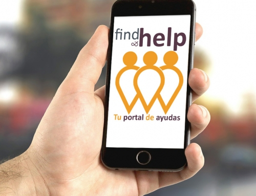 APP MOVIL ANUNCIOS AYUDAS SOCIALES FIND & HELP