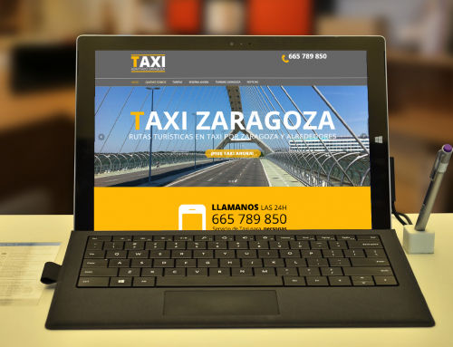 DISEÑO WEB RESERVA TAXI WORDPRESS
