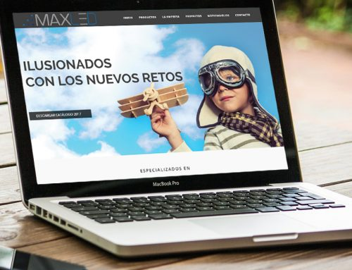 DISEÑO WEB PARA EMPRESA DE ILUMINACIÓN LED INDUSTRIAL