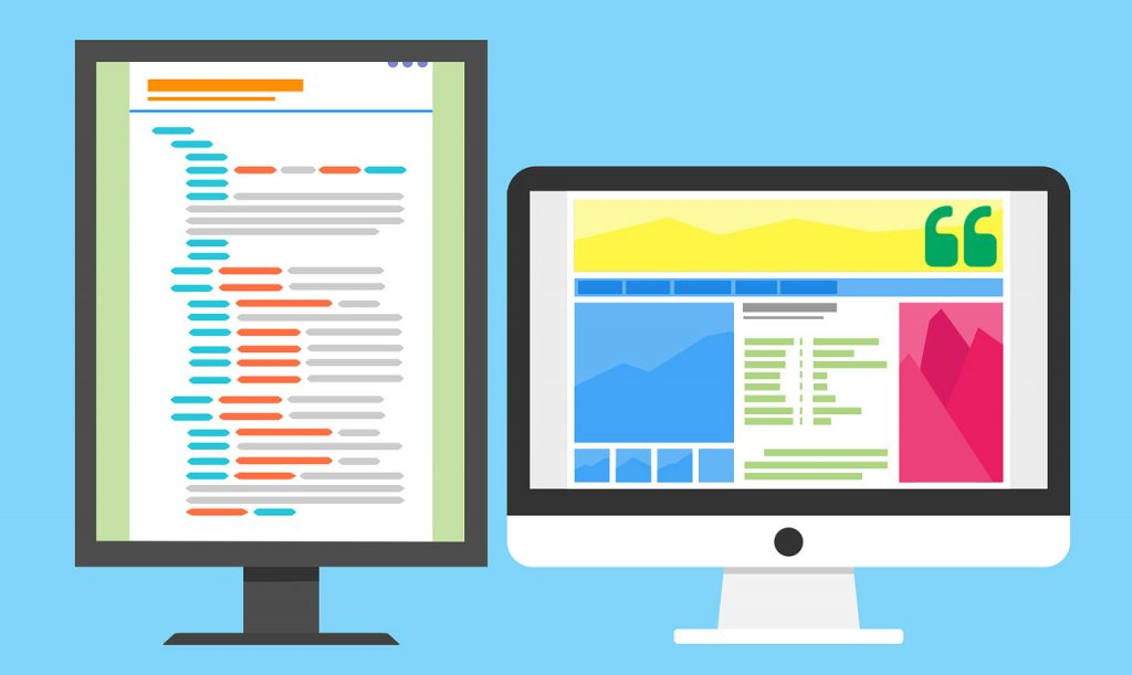 imagen vectorial de diseño web profesional