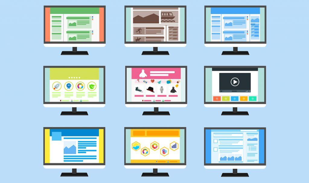 ejemplos de diseño web